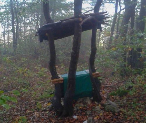 Lightweight latrína de-luxe